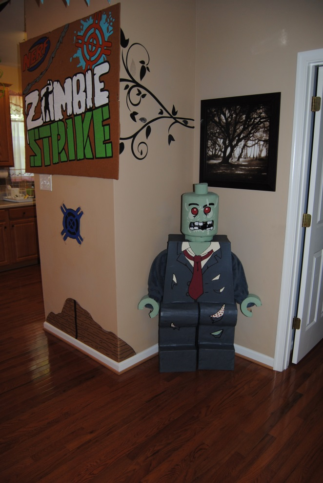 Nerf Zombie Party Crafts Action